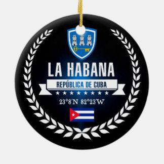 Ornamento De Cerâmica Havana