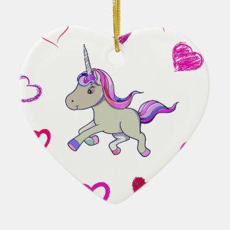 Ornamento De Cerâmica heart21