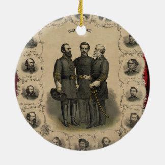 Ornamento De Cerâmica Heróis da guerra civil