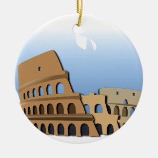 Ornamento De Cerâmica História antiga Italia do coliseu de Coliseo Roma