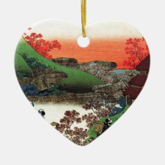 Ornamento De Cerâmica Hokusai - arte japonesa - Japão