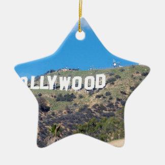 Ornamento De Cerâmica Hollywood Hills