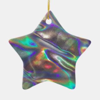 Ornamento De Cerâmica holográfico
