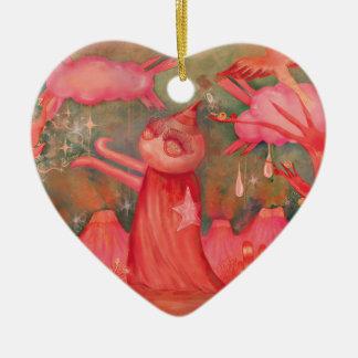 Ornamento De Cerâmica homem do pêssego