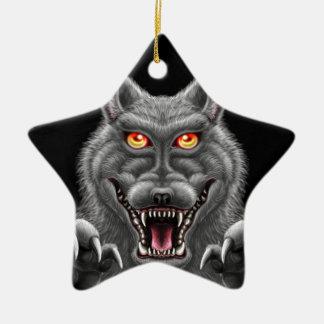 Ornamento De Cerâmica Homem-lobo feroz