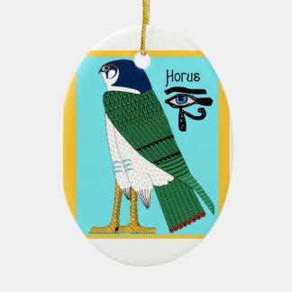 Ornamento De Cerâmica Horus