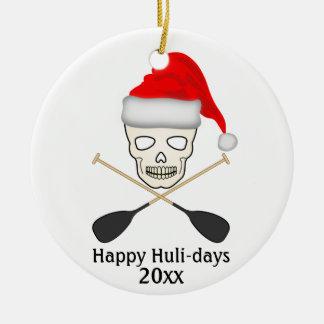 Ornamento De Cerâmica Huli-dias felizes