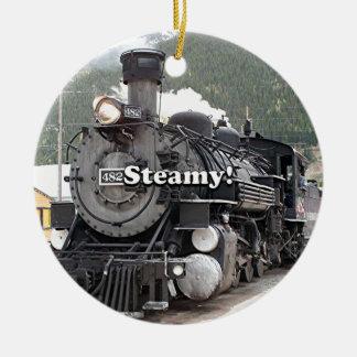 Ornamento De Cerâmica Húmido!: cozinhe o motor do trem, Colorado, EUA 8