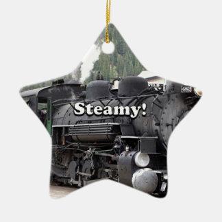 Ornamento De Cerâmica Húmido!: motor do trem do vapor, Colorado, EUA