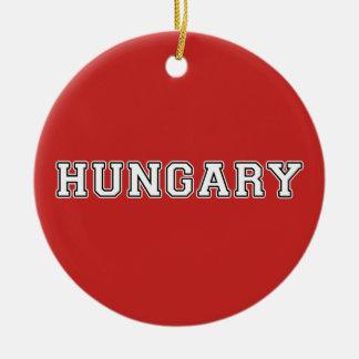 Ornamento De Cerâmica Hungria