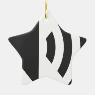 Ornamento De Cerâmica Ícone do auto-falante