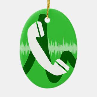 Ornamento De Cerâmica Ícone do telefonema