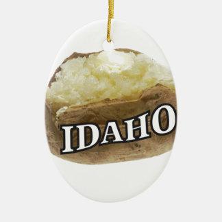 Ornamento De Cerâmica Idaho spud