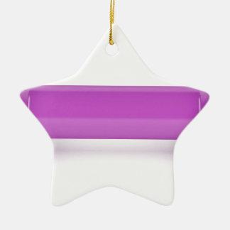 Ornamento De Cerâmica Ideia dianteira do dumbbell cor-de-rosa