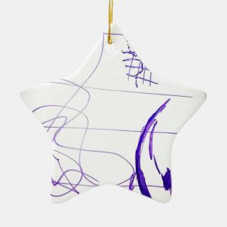 Ornamento De Cerâmica Ideias e liberdade dos gráficos dos Scribbles