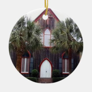 Ornamento De Cerâmica Igreja da cruz - Bluffton, South Carolina