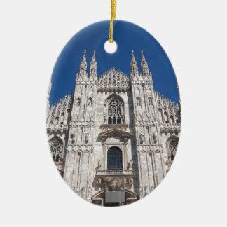 Ornamento De Cerâmica Igreja gótico Milão Italia da catedral de Milão do