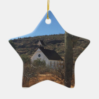 Ornamento De Cerâmica Igreja ocidental velha
