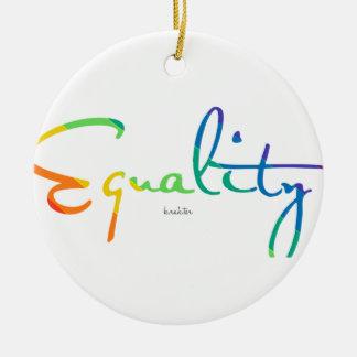 Ornamento De Cerâmica Igualdade