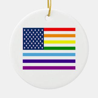 Ornamento De Cerâmica Igualdade americana