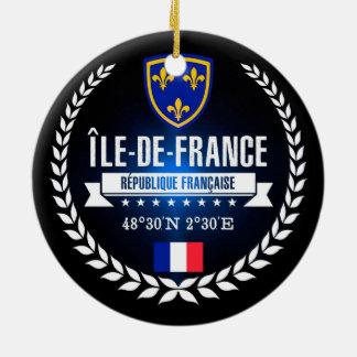 Ornamento De Cerâmica Île-de-France