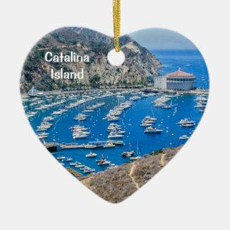 Ornamento De Cerâmica Ilha de Catalina