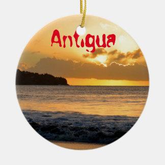 Ornamento De Cerâmica Ilha tropical em Antígua