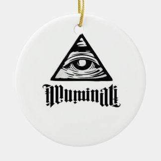 Ornamento De Cerâmica Illuminati