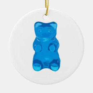Ornamento De Cerâmica Ilustração azul de Gummybear