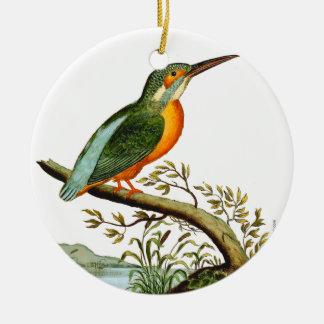 Ornamento De Cerâmica Ilustração do martinho pescatore, 1700s do vintage