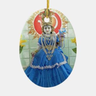 Ornamento De Cerâmica Imagens de Durga NavDurga da deusa