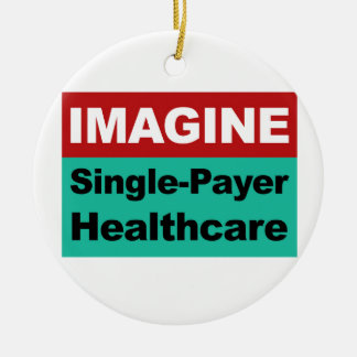 Ornamento De Cerâmica Imagine únicos cuidados médicos do pagador