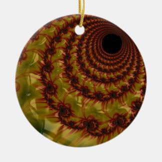 Ornamento De Cerâmica IMG_0642.JPGred e buraco negro amarelo