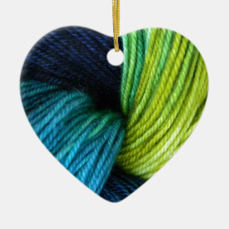 Ornamento De Cerâmica Impressão do fio, fazendo malha, crochet