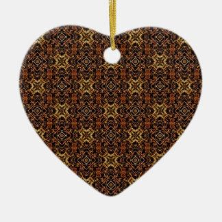 Ornamento De Cerâmica Impressão geométrico tribal