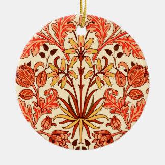 Ornamento De Cerâmica Impressão, laranja e oxidação do jacinto de