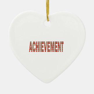 Ornamento De Cerâmica Inspiração do esforço da motivação do sucesso da