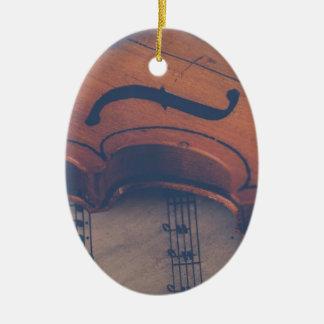 Ornamento De Cerâmica Instrumento musical clássico de instrumento de
