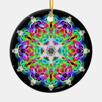 Ornamento De Cerâmica Interconexão/alquimia da alegria