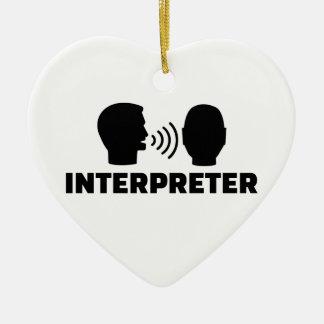 Ornamento De Cerâmica Intérprete