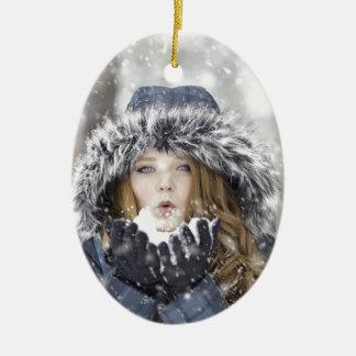 Ornamento De Cerâmica inverno