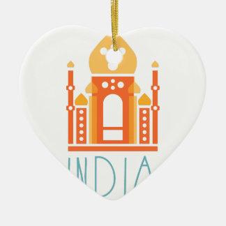 Ornamento De Cerâmica Ioga de India