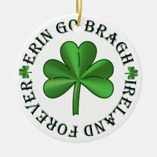 Ornamento De Cerâmica Ireland para sempre