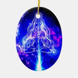 Ornamento De Cerâmica Iridescence cósmico