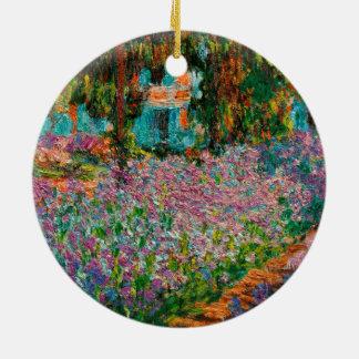 Ornamento De Cerâmica Íris em Giverny Claude Monet
