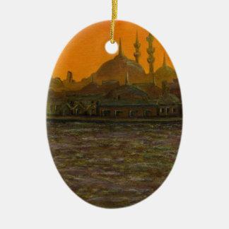 Ornamento De Cerâmica Istambul Türkiye/Turquia