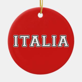 Ornamento De Cerâmica Italia