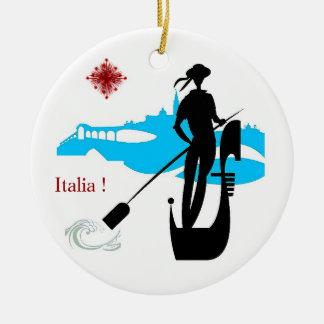 Ornamento De Cerâmica Italia!