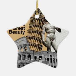 Ornamento De Cerâmica Italia, a grande beleza