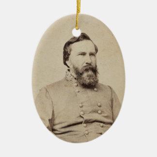 Ornamento De Cerâmica James Longstreet